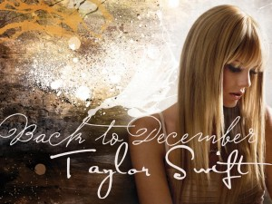 Taylor Swift  December  on Taylor Swift     Back To December